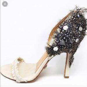 ‼️NEW LAMB feathered heels